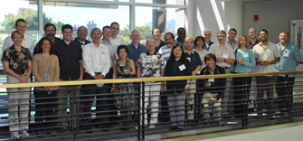 Participants in the 16th TGICA meeting in Boulder