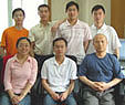GIS training class comprised of graduate students from Research Group on Fiscal Reform, CFA,  with instructor Xiaoshi Xing.