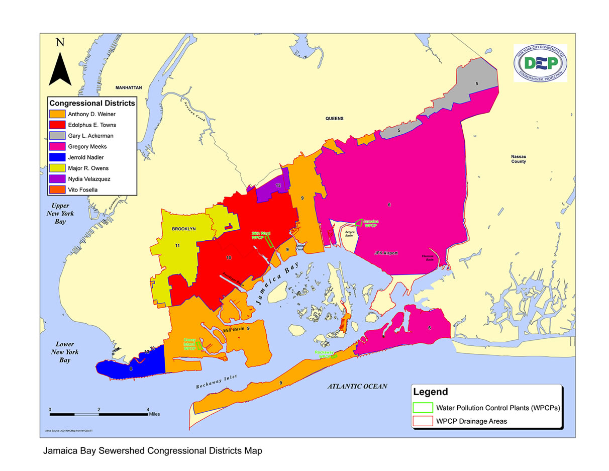 Map Of New York Jamaica.Jamaica Bay Research And Management Information Network Maps Page